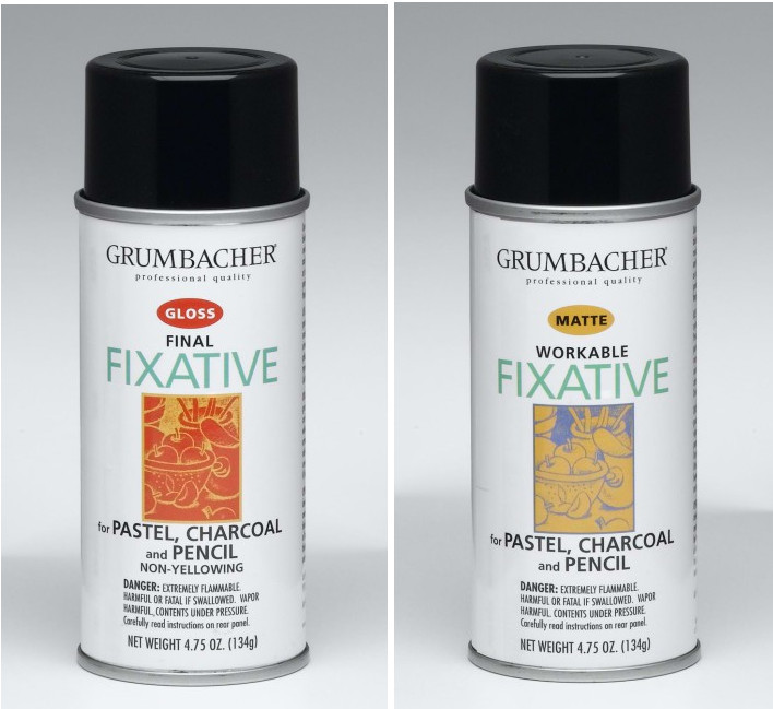 Workable Fixative vs Final Fixative