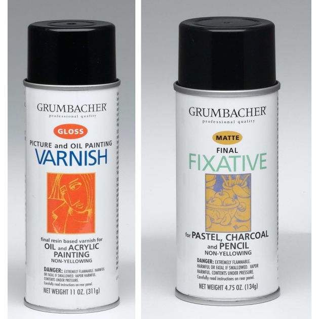 varnish vs fixative