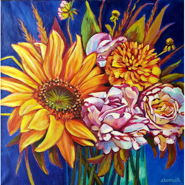 24x24 Acrylic Paint