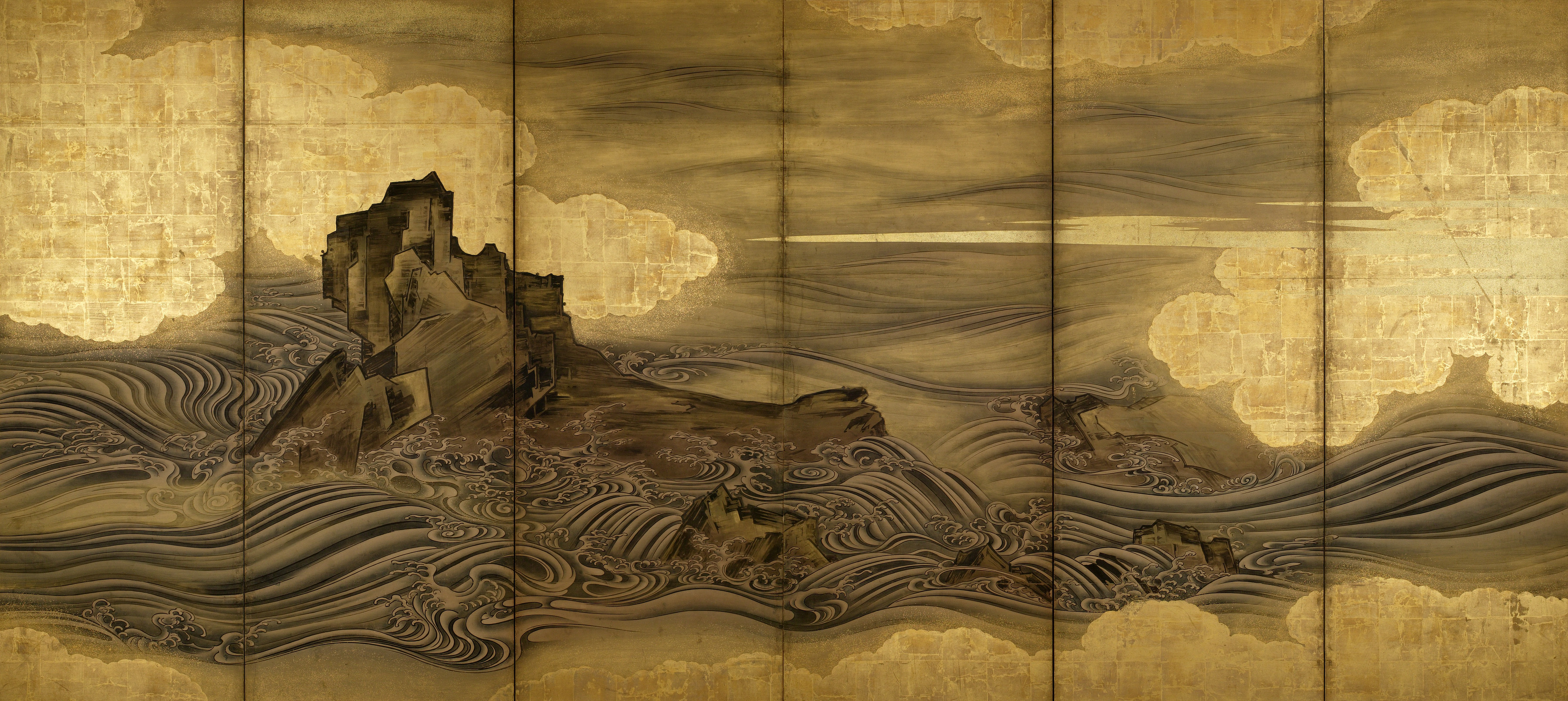 Byobu the grandeur of japanese screens interview for The art of painting