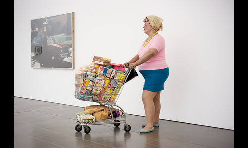 Duane Hanson: Supermarket Shopper, 1970