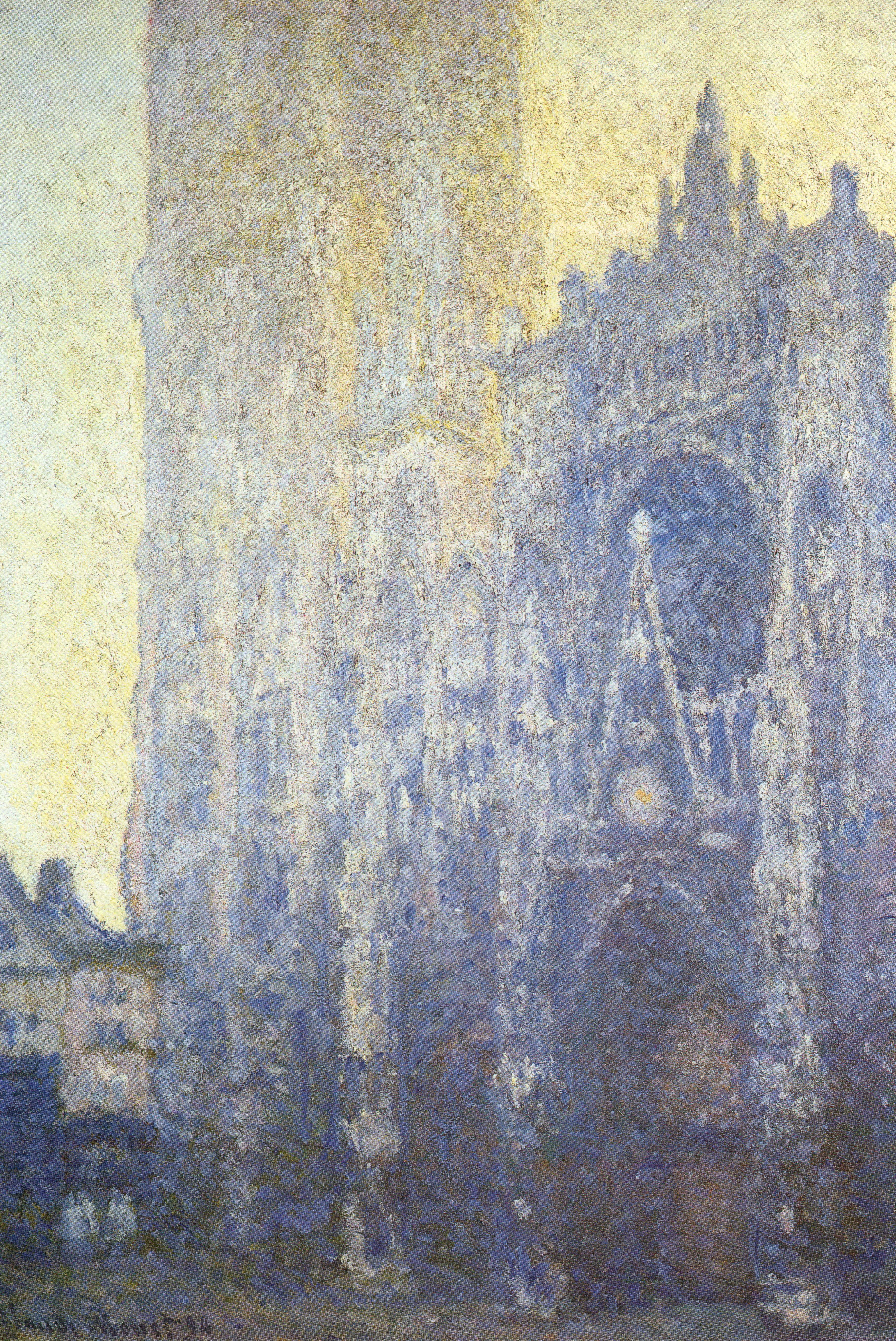 Watercolor artists directory wiki - Https Commons Wikimedia Org Wiki File Claude_monet_ _rouen_cathedral _facade_and_tour_d 27albanei Jpg