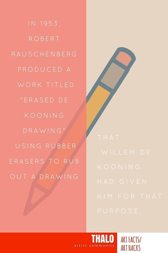 robert rauschenberg   u0026quot erased de kooning drawing u0026quot     thalo articles