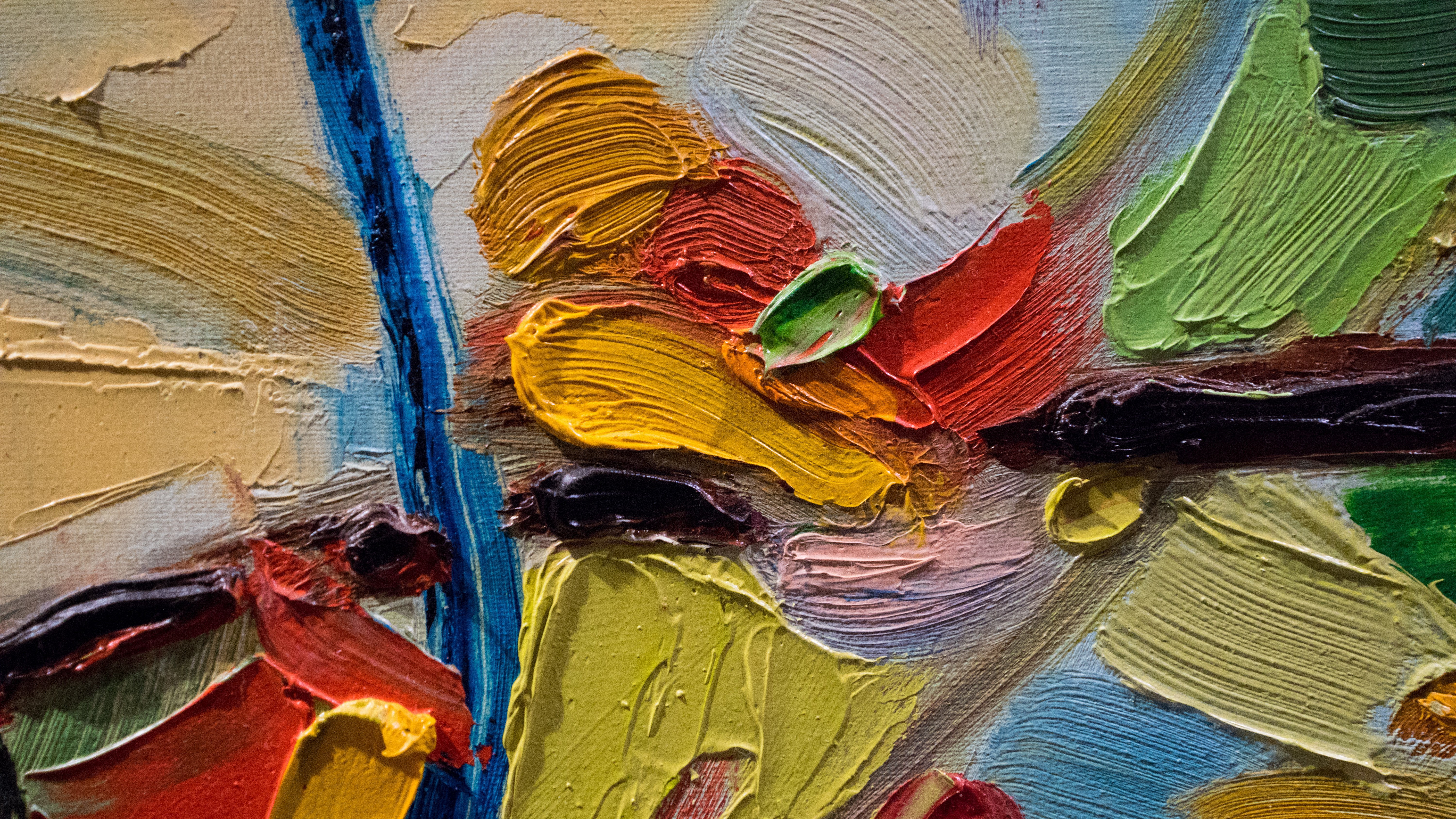 Oil Painting Images Download: How To Take A Good Care And Storage Tips For Your Oil Painting