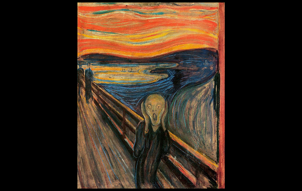 Image result for The Scream – Edvard Munch