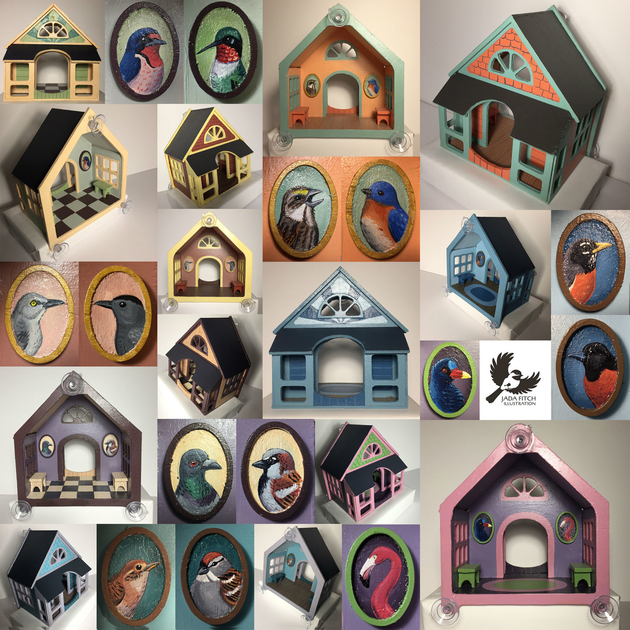 Bird Houses Home Tweet Home