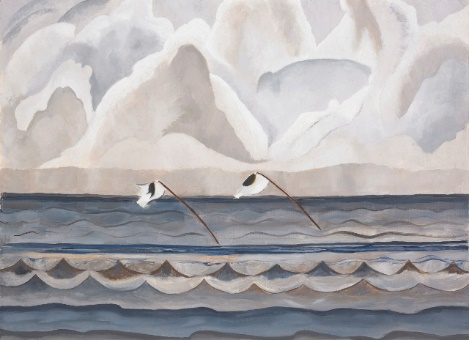 Modernist painter Helen Torr, found inspiration living on the North Shore in works like Oyster Stakes.