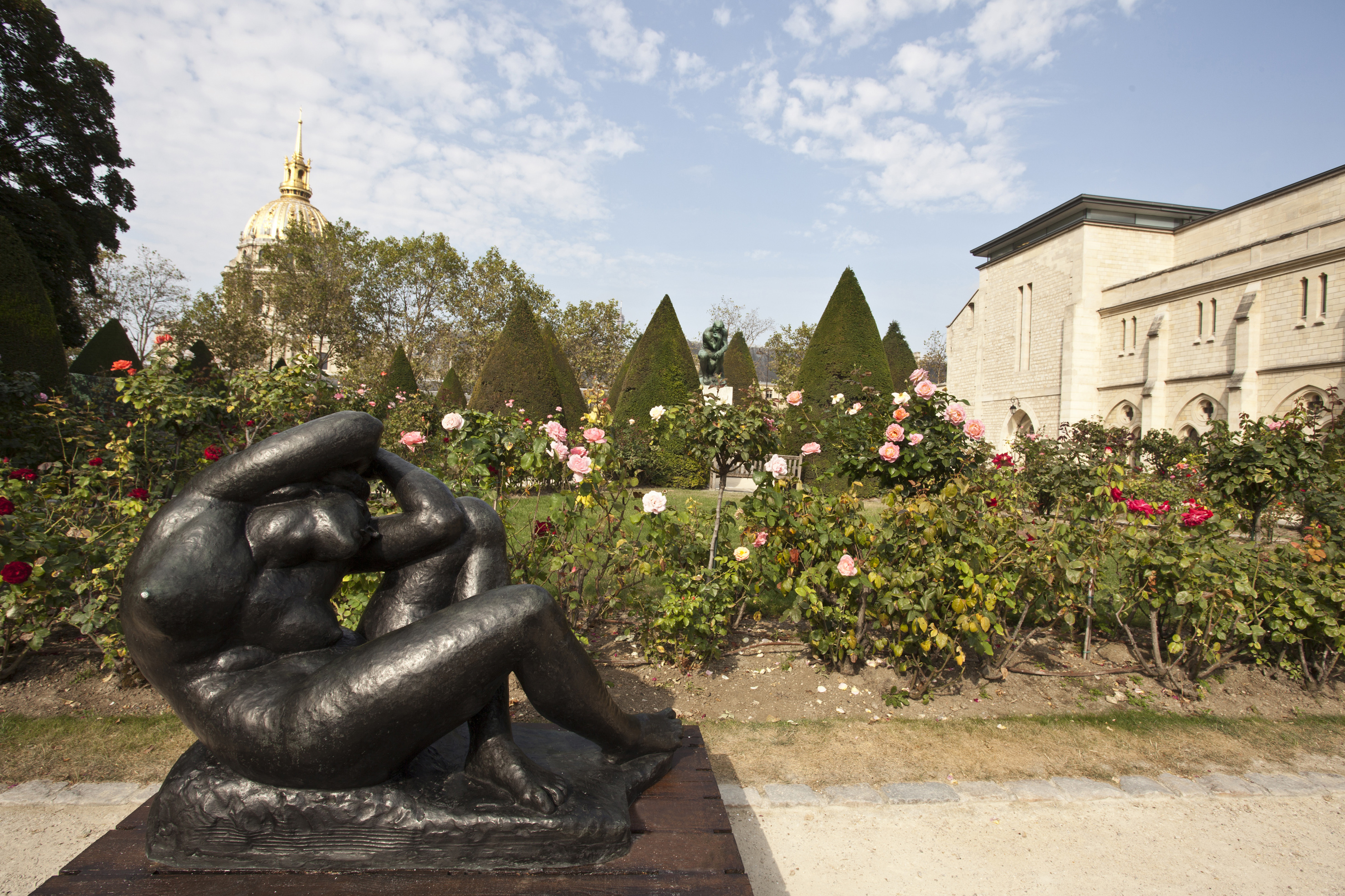 Ivan Mestrovic At The Musee Rodin In Paris / thalo Articles
