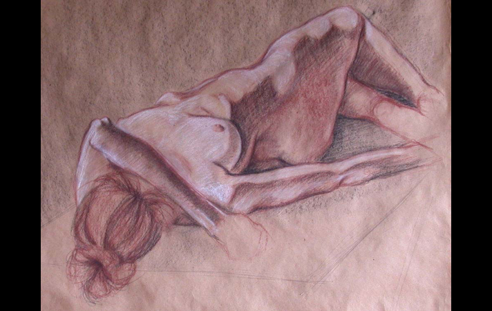 Nude on Butcher Paper