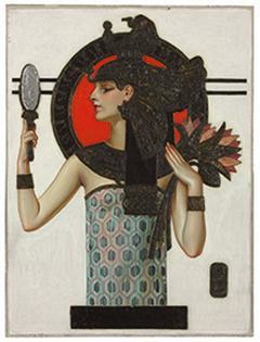 J.C. Leyendecker. Cleopatra, cover of The Saturday Evening Post, October 6, 1923.  Oil on canvas, 25 ¼ x 20 in.